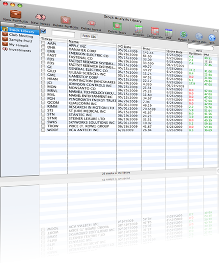 Stock Investment Guide - Stock Analysis for Macintosh and Windows.